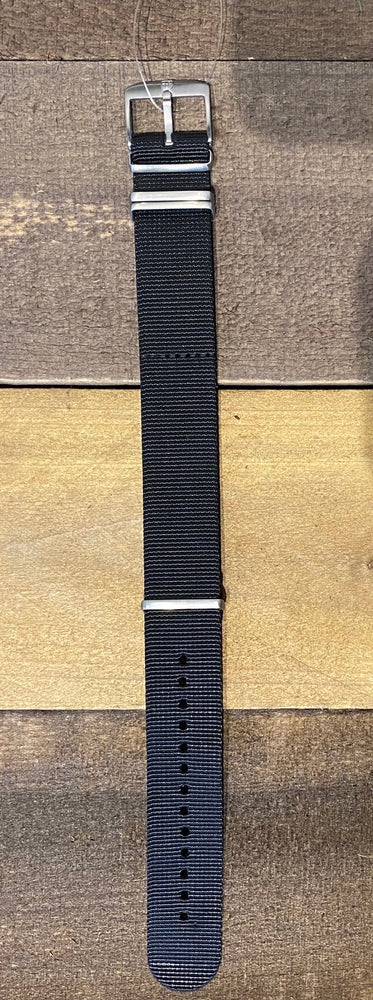 Black Webbing Strap 23mm