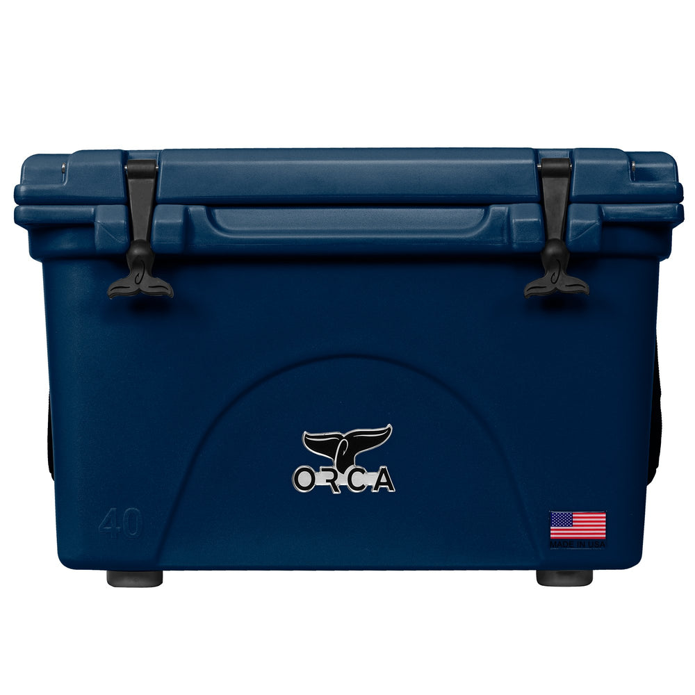 Navy 40 Quart Cooler