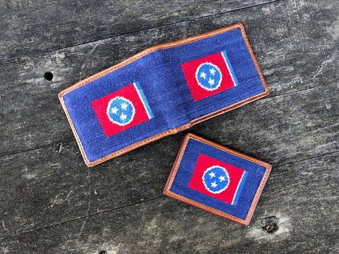 Tennessee Flag Credit Card Wallet