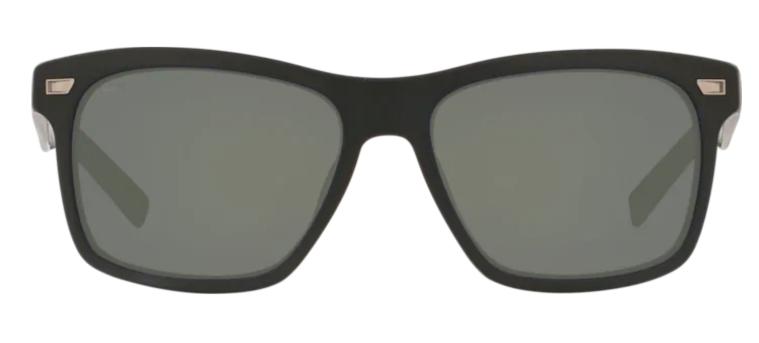 Aransas Matte Black Grey Mirror 580G