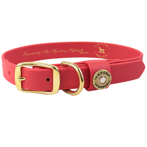 Water Dog Collar Red