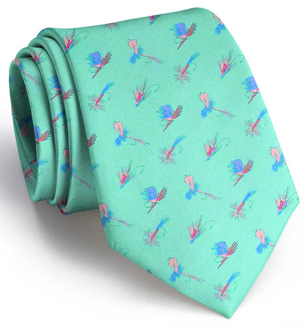 Hooked On Flies Tie Mint