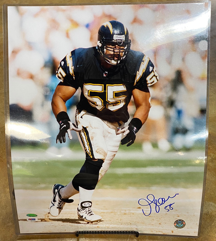 Junior Seau 16X20 Signed Photo