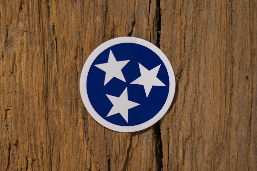 Navy Tristar Sticker