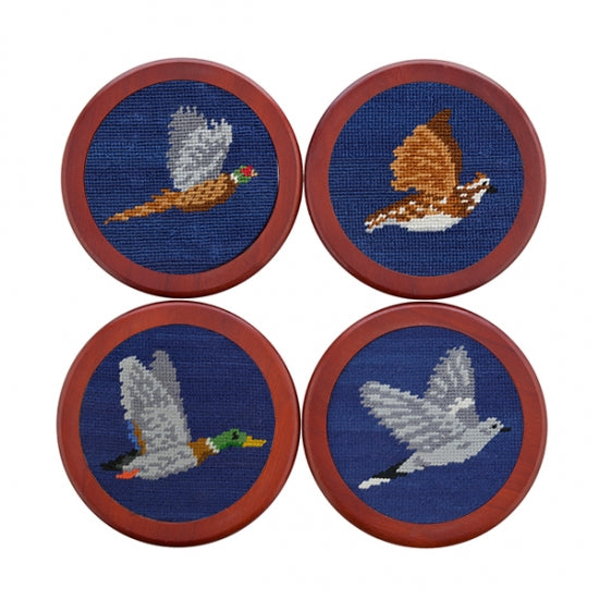 Game Birds Coaster Set