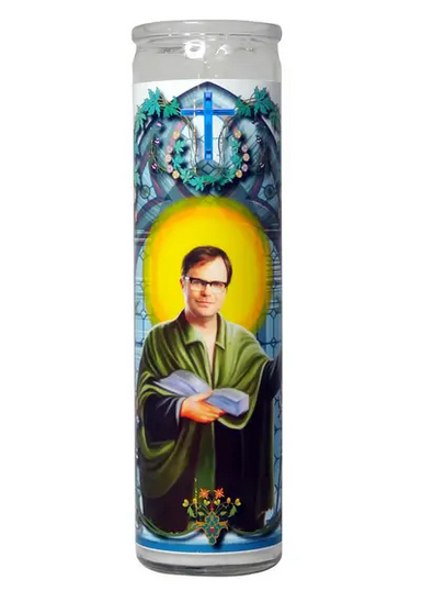 Dwight Schrute Prayer Candle