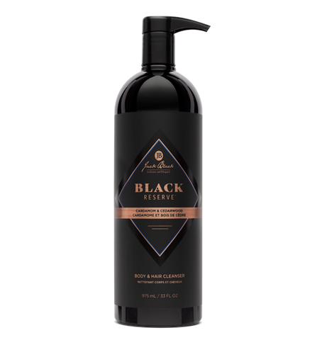 Black Reserve Body & Hair Cleanser 33 oz.