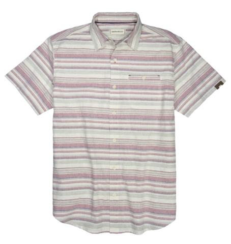 Jaron Short Sleeve Stripe
