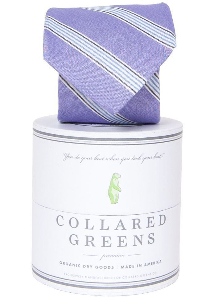 Catalina Purple Necktie