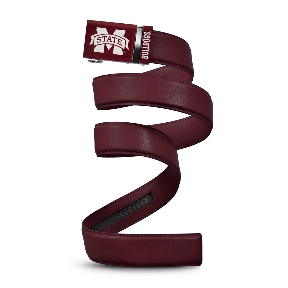 Mississippi State Leather Belt