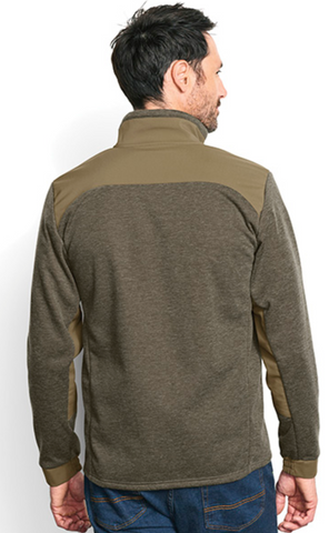 Hybrid Wool Fleece Jacket
