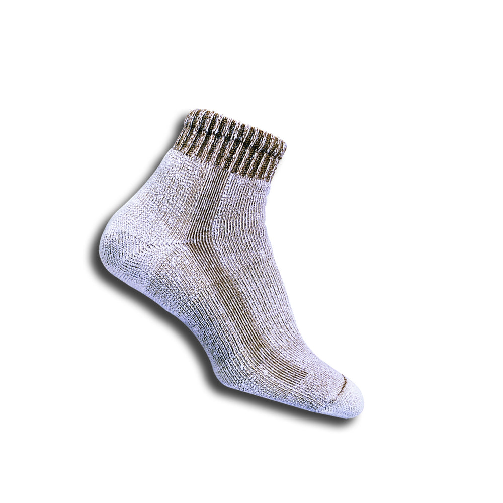 Hiking Ankle Sock Walnut