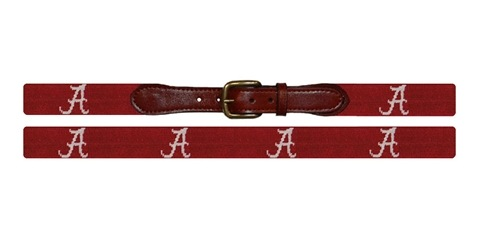 Alabama Needlepoint Belt