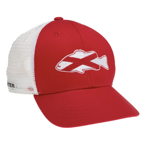 Stars and Stripes Hook Jaw Hat