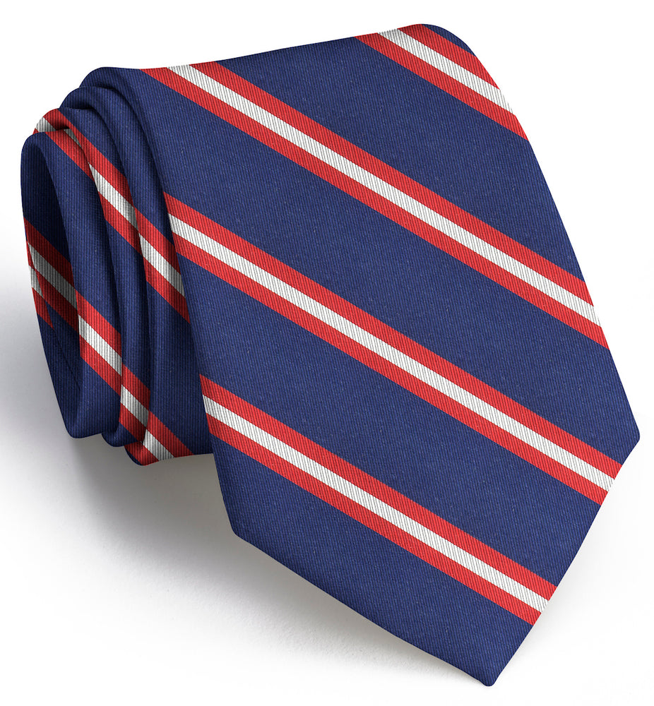 Berkshire Tie Navy w/ Red