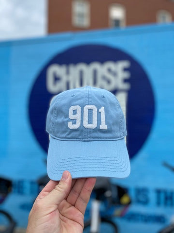 901 Hat Light Blue