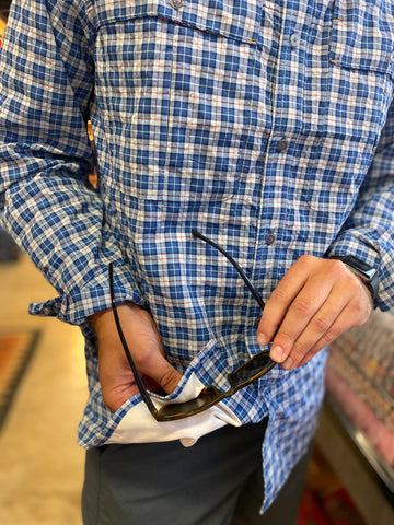 Open Air Plaid Caster L/S Shirt