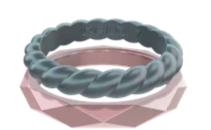 W Standard Stackable Ring Collection J