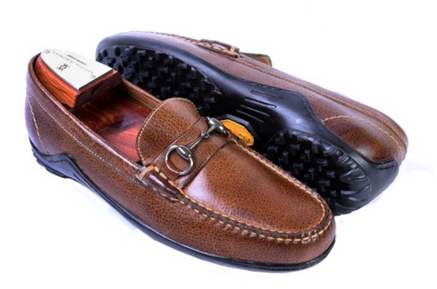 Bill Horse Bit Leather Loafer