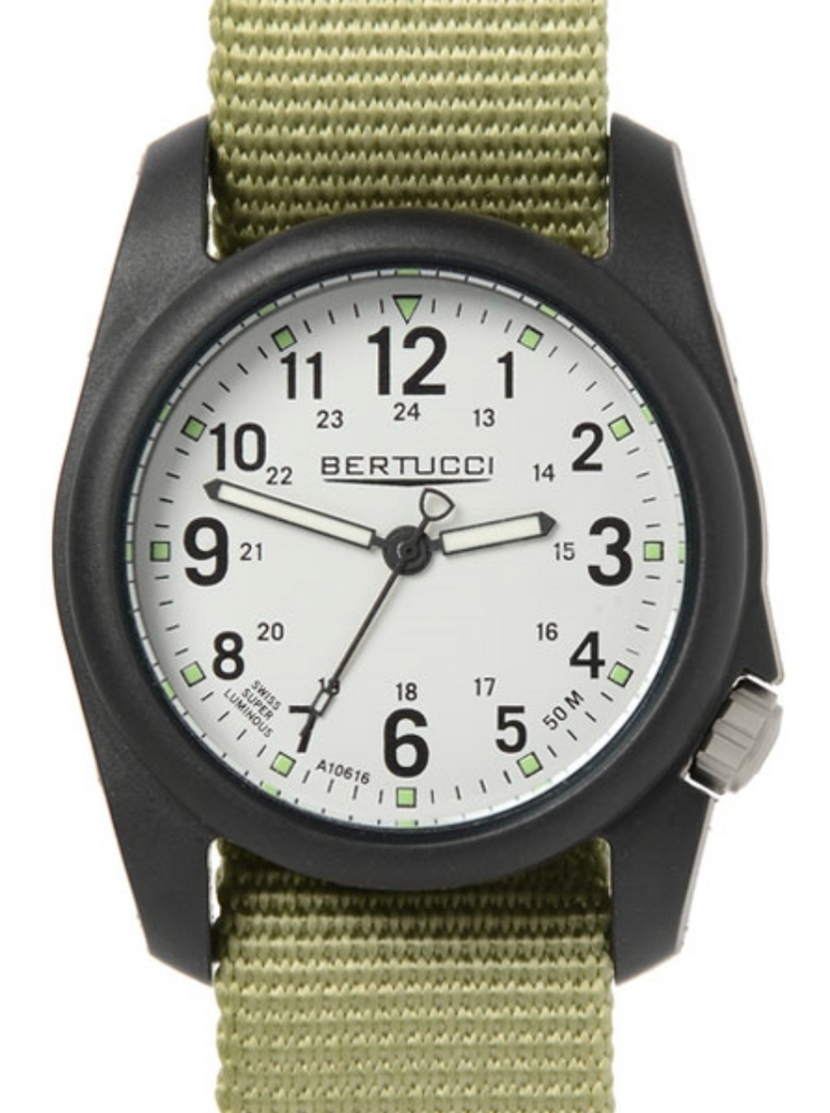 Dx3 Field Stone Dial - #178 Patrol Green Band