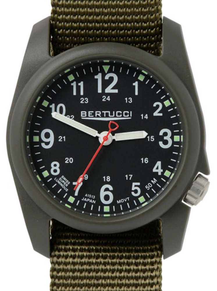 Dx3 Field Black - #123 Defender Olive Band