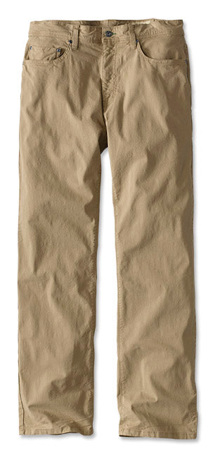 5 Pocket Stretch Twill Desert Khaki