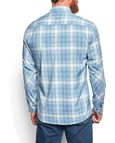 Tech Chambray Plaid Work Shirt