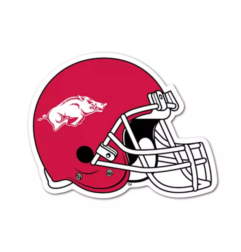 "Arkansas Helmet 3"" Collegiate Decal"