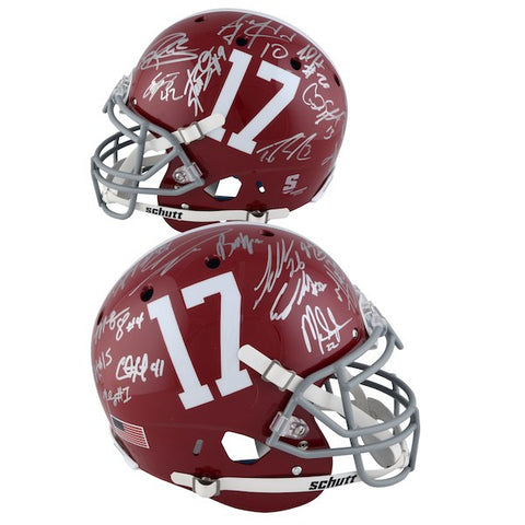 Alabama 21 Signature Full Size Helmet