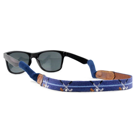 Crossed Clubs Sunglass Strap