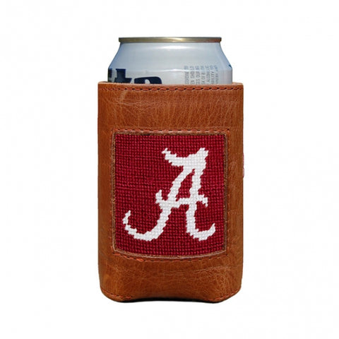 Needlepoint Coozie Alabama