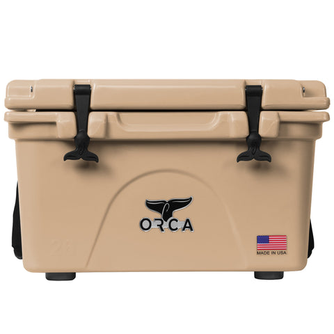 Tan 26 Quart Cooler