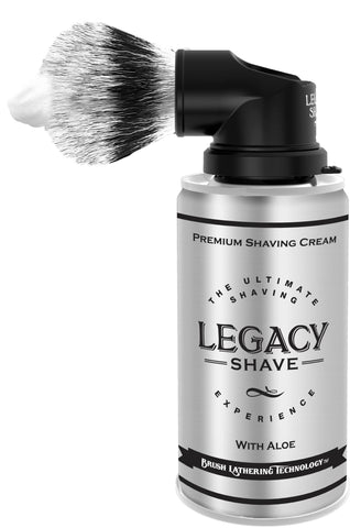 Shave Brush w/ Shave Cream