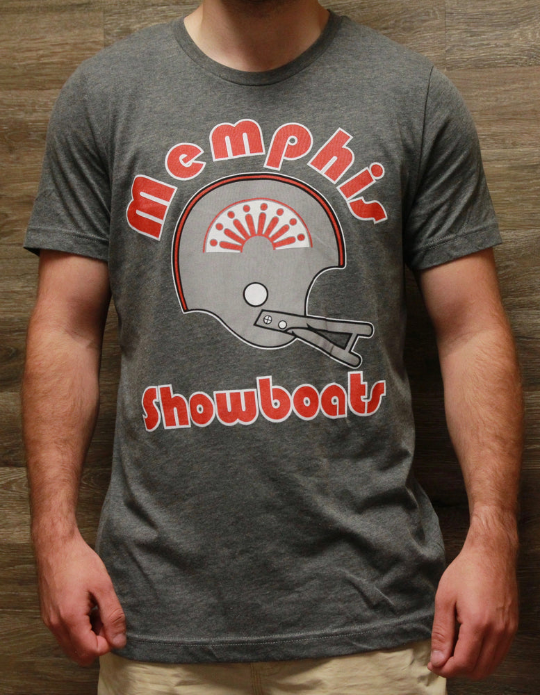 Showboats Retro Helmet Tee