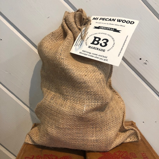 MS Pecan Wood Bag 4LB