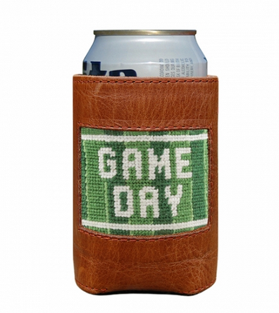 Needlepoint Coozie Game Day