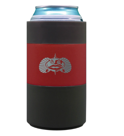 Non-tipping Can Cooler Red