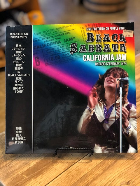 Black Sabbath California Jam Ontario Speedway 1974 Purple Vinyl