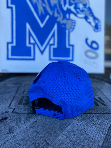 Royal Blue Moisture Wicking Tigers Hat