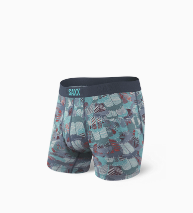 Ultra Boxer Brief Blue Feathers