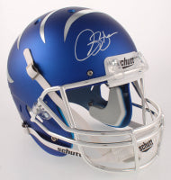 Isaac Bruce Signed Blue Memphis Tigers Full-Sized Helmet
