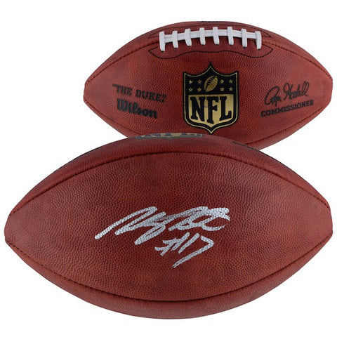 Anthony Miller Bears Signed Football