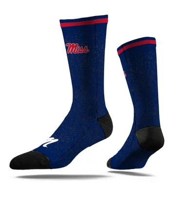 Ole Miss M Sock