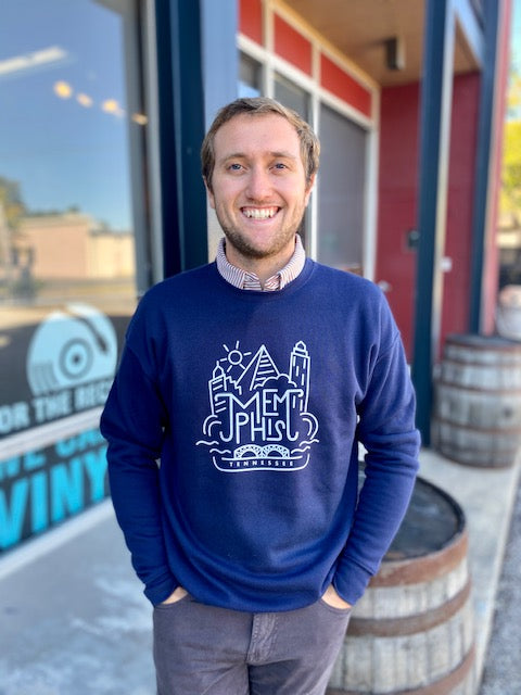 Downtown Memphis Sweatshirt Navy