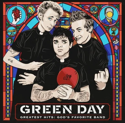 Green Day Greatest Hit God's Favorite Band