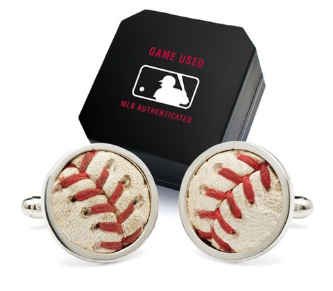 Yankees Baseball Cufflinks
