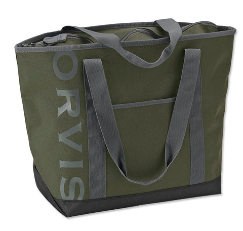 Dark Green Nylon Tote