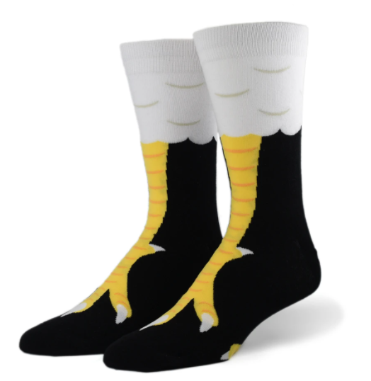 Chicken Feet Sock