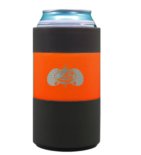 Non-tipping Can Cooler Orange