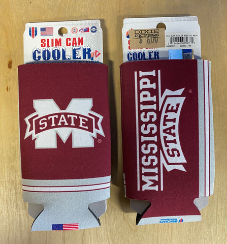 Slim Can Cooler Mississippi State